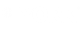 York logo white